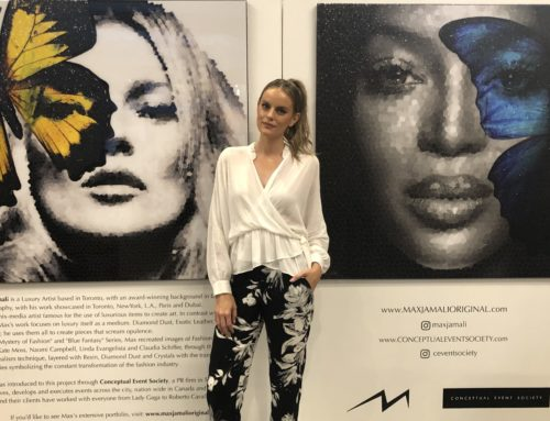 Fashion meets art with Max Jamali