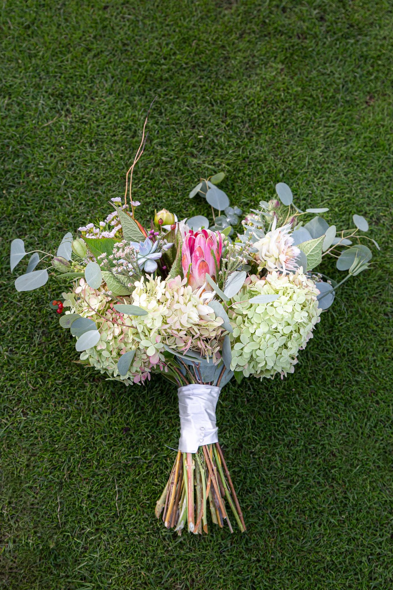 bouquet of bridal flowers